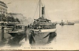SUISSE(GENEVE) BATEAU - GE Genève