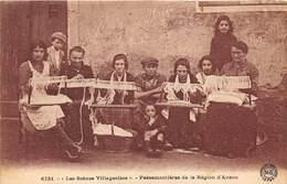 43-AUZON- LES SCENES VILLAGEOISES- PASSEMENTIERES DE LA REGION D'AUZON - France