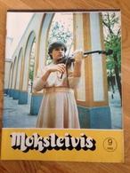 Magazine Student 1985 Lithuania - Books, Magazines, Comics