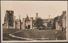 Outer Courtyard, Wingfield, Alfreton, Derbyshire, C.1910s - Sneath RP Postcard - Derbyshire