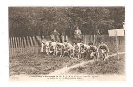 CPA 85 CHANTONNAY CHAMPIONNAT D'ATHLETISME L'U.R.P.V CHALLENGE JEAN DE LESPINAY Départ Du 800 Mètres 1927 - Chantonnay