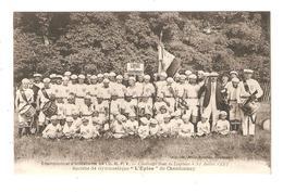 CPA 85 CHANTONNAY CHAMPIONNAT D'ATHLETISME L'U.R.P.V CHALLENGE JEAN DE LESPINAY Société Gymnastique L'Epine Chantonnay - Chantonnay
