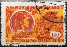 Vietnam North 1958 Vo Thi Sau Resistance Of South Vietnam - Vietnam