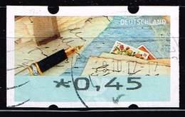Bund 2017 ATM, Michel# 8 O Portostufe 0,45 Euro - BRD