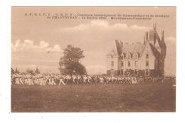 CPA 85 CHANTONNAY F G S P F - U R P V Concours Interrégional Gymnastique & Musique 13 Juillet 1930 Mouvement D'ensemble - Chantonnay