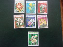 Kampuchéa Série 7 Fleurs - Autres