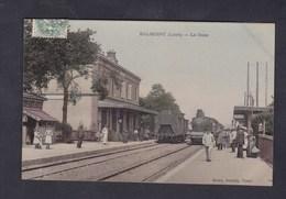 Vente Immediate Balbigny (42) La Gare ( Animée Chemin De Fer Train Ed. Giroud Buraliste ) - France
