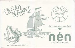 Buvard Magasins Nén - 3 Cafés, 3 Succès - Alimentaire