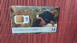 GSM Card Austria  (Mint,Neuve)  2 Scans Rare - Austria