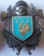 INSIGNE POMPIERS GAILLAC - Firemen
