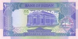 SUDAN P. 50b 100 P 1992 UNC - Soudan