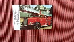 Phonecard Fire Man  (Mint,Neuve) Only 3000 Made 2 Scans Very Rare ! - Firemen
