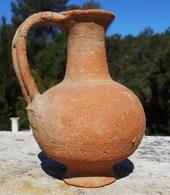 Petite Cruche  Romaine En Usage Du 2em Au 4em Siècle. - Archéologie
