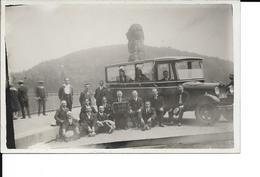 Autobus - Photo Carte -  Excursion La Gileppe - Musicien Accordéon - Voir  Scans - Buses & Coaches