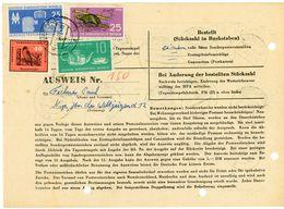 NEURUPPIN - Sammler Ausweis Für Den Bezug Von Postwertzeichen 1959 - DDR