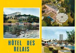 1 AK Elfenbeinküste Côte D'Ivoire * Abidjan Mit Dem Hôtel Des RELAIS - IRIS Karte 6754 * - Elfenbeinküste