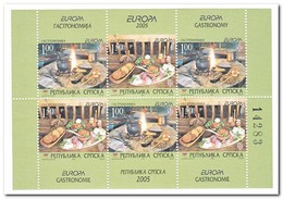 Servië 2005, Postfris MNH, Europe, Cept, Food - Servië