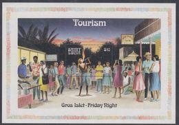 Sainte-Lucie BF N° 49A XX Tourisme ( I ), Le Bloc Sans Charnière, TB - St.Lucie (1979-...)