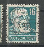 """Sowjetische Zone 218d """"16 Pfg.-Briefmarke Aus Köpfe I-Satz Hoher Qualität,gepr. Schönherr""""gestempelt Mi.:20,00 - Zone Soviétique"""