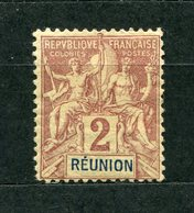 Reunion Nr.33          *  Unused       (014) - Reunion Island (1852-1975)