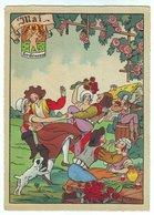 Barré Dayez N° 1288 E- Mai Horoscope Les Gémeaux Les Douze Mois De L'année. La Fête Danse Violon. - Otros Ilustradores