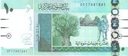 Sudan - Pick 73 - 10 Pounds 2015 - Unc - Sudan