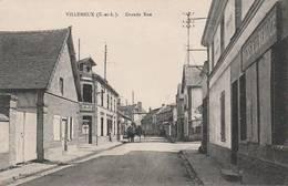 """CPA:VILLEMEUX (28) """"DOCKS DE LA BEAUCE"""" GRANDE RUE..ÉCRITE - Autres Communes"""