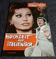 """Altes IFK-Filmprogramm (12 S.) - SOPHIA LOREN In """"Hochzeit Auf Italienisch"""" Mit Marcello Mastroianni ... - 181108 - Magazines"""