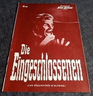"Altes IFB-Filmprogramm - SOPHIA LOREN In ""Die Eingeschlossenen"" Mit Maximillian Schell, Robert Wagner ... - 181105 - Magazines"
