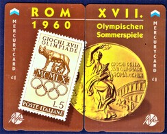 "MERCURY: Olympics Games Series (3) MEO006-7 PUZZLE ""Rome 1960"" Rare (1.044ex) - United Kingdom"