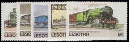 Lesotho 1984 Trains Unmounted Mint. - Lesotho (1966-...)