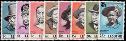 Lesotho 1975 Leaders Of Lesotho Unmounted Mint. - Lesotho (1966-...)