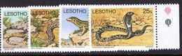 Lesotho 1979 Reptile Sideways Watermark Unmounted Mint. - Lesotho (1966-...)