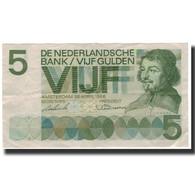 Billet, Pays-Bas, 5 Gulden, 1966-04-26, KM:90a, TTB+ - [2] 1815-… : Koninkrijk Der Verenigde Nederlanden