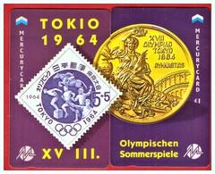 "MERCURY: Olympics Games Series (4) MEO008-9 PUZZLE ""Tokyo 1964"" Rare (1.044ex) - United Kingdom"