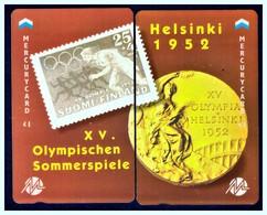 "MERCURY: Olympics Games Series (5) MEO0010-11 PUZZLE ""Helsinki 1952"" Rare (1.044ex) - United Kingdom"