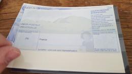 LOT 398665 TIMBRE DE FRANCE DOCUMENT COUPON UPU FRANCE - France