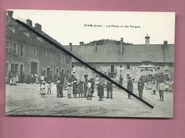 CPA - Syam  -(Jura )- La Place Et Les Forges - Other Municipalities