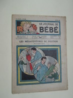 BDMAR20   Très Ancienne Revue De BD / LE JOURNAL DE BEBE N°283 Ou 383 De 1919 Ou 29 - LES MESAVENTURES DE POLYDOR - Altri