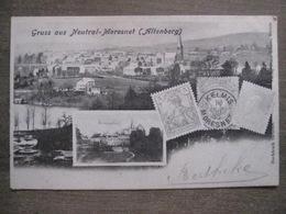 Cpa Gruss Aus Neutral-Moresnet (Altenberg) - Kelmis Reichspost Timbre Poste Belgique - Plombières