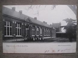 Cpa Hannut - L'école Des Filles - Edit. Flamand-Godfrin - 1904 - Hannuit