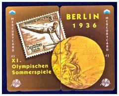 "MERCURY: Olympics Games Series (8) MEO0016-17 PUZZLE ""Berlin 1936"" Rare (1.044ex) - United Kingdom"