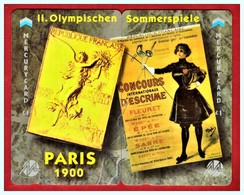"""MERCURY: Olympics Games Series (10 MEO0020-21 PUZZLE """"Paris 1900"""" Rare (1.044ex) CN:49MER - United Kingdom"""