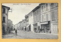 C.P.A. GAILLAC - Rue Joseph Rigal - Gaillac