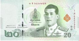 Thailand - Pick New - 20 Baht 2018 - Unc - Thaïlande
