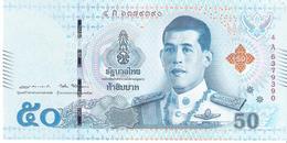 Thailand - Pick New - 50 Baht 2018 - Unc - Thaïlande