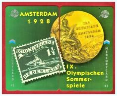 "MERCURY: Olympics Games Series (11) MEO0022-23 PUZZLE ""Amsterdam 1928"" Rare (1.044ex) CN:49MER - United Kingdom"