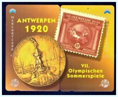 "MERCURY: Olympics Games Series (12) MEO0024-25 PUZZLE ""Antwerpen 1920"" Rare (1.044ex) - United Kingdom"