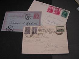 GR  3 Alte Belege Karten Auch Corfu Und Creta - Ganzsachen