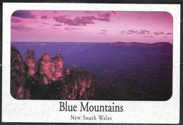 """Australia NSW Blue Mountains (4-1/2""""x6-1/2"""" PC) Unused - Australia"""